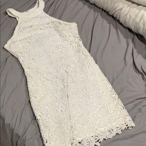 Lulu's Dresses - Lulu's Love Poem Ivory Lace Dress - Small